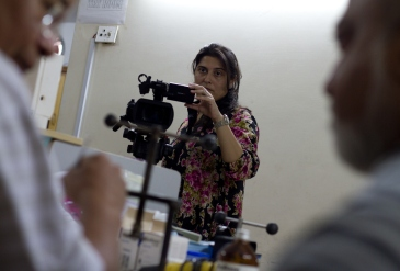 Sharmeen Obaid-Chinoy co-directs 'Saving Face,' a documentary about acid-attack victims in Pakistan.