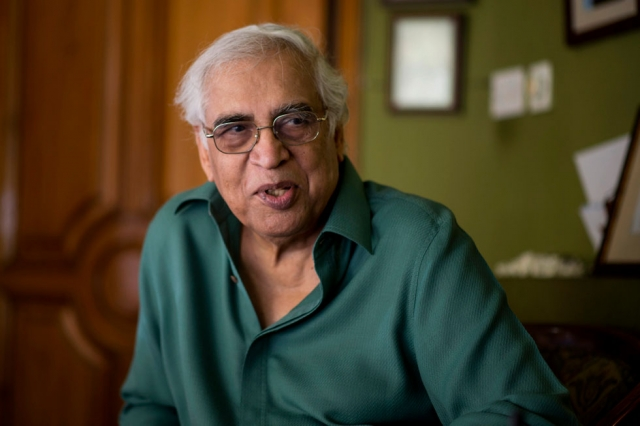 Ghani Chaudry at home in Lahore, Pakistan, spring 2013. Photo by: Saad Sarfraz Sheikh
