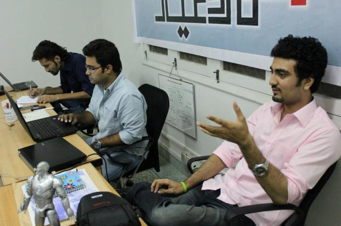 The Umru Ayar Team - Left to Right : Saad Hassam, Nofal Khan and Ramish Safa