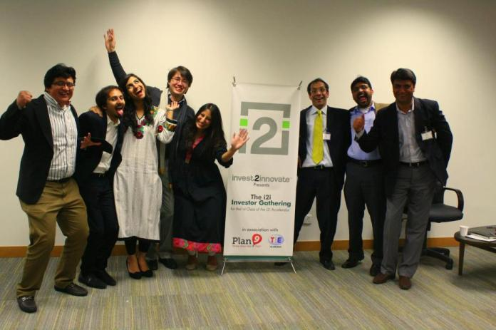 The i2i team with their entrepreneurs. Photo: Sonya Rehman
