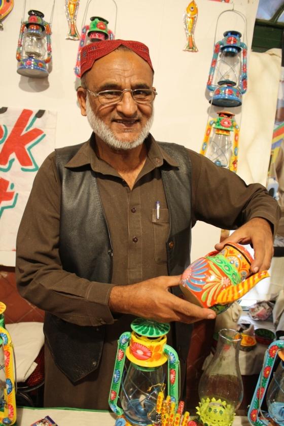 Haji Sahib's son. Photo: Sonya Rehman