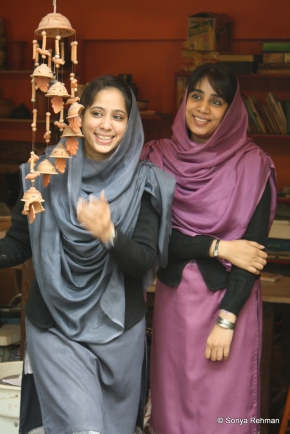 Noshi Ejaz and Afshan Ejaz. Photo: Sonya Rehman