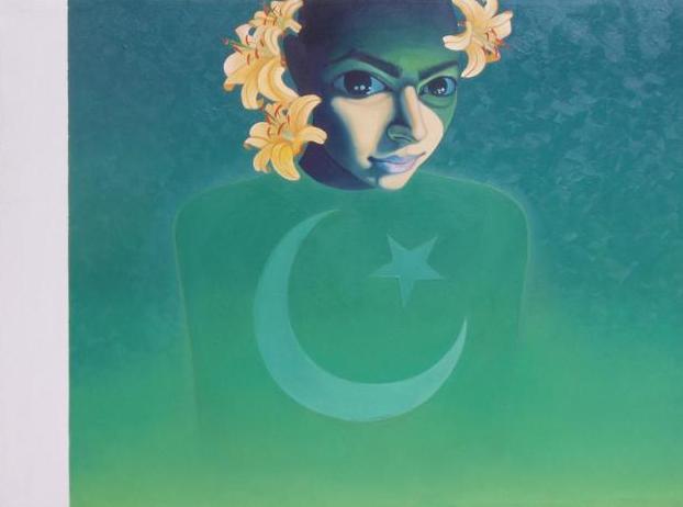 A painting by Sana Arjumand (an incredible Pakistani artist)