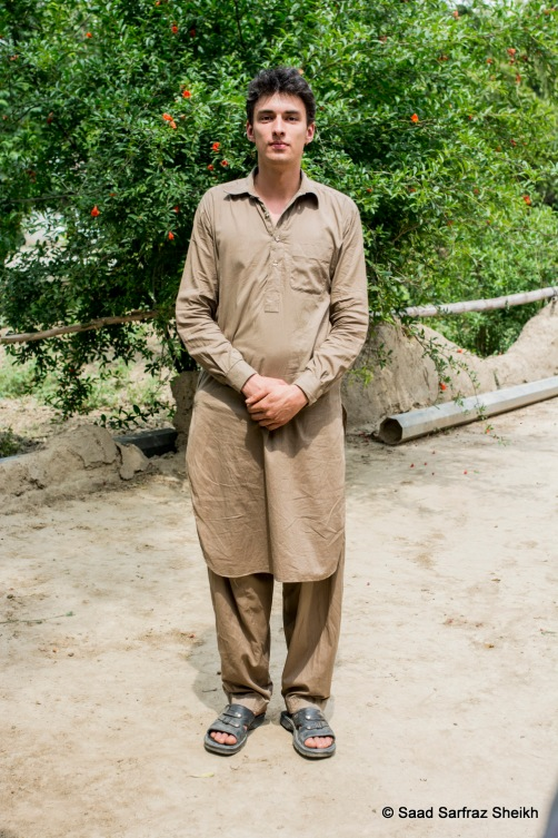 "Micha Joel Seitz is an undergraduate student in Switzerland who divides his time between college and visiting Pakistan every few weeks to volunteer at the centre. ""My parents were totally fine with me coming to Pakistan even though they only read and hear about the bomb blasts etc. in the news,"" he said."