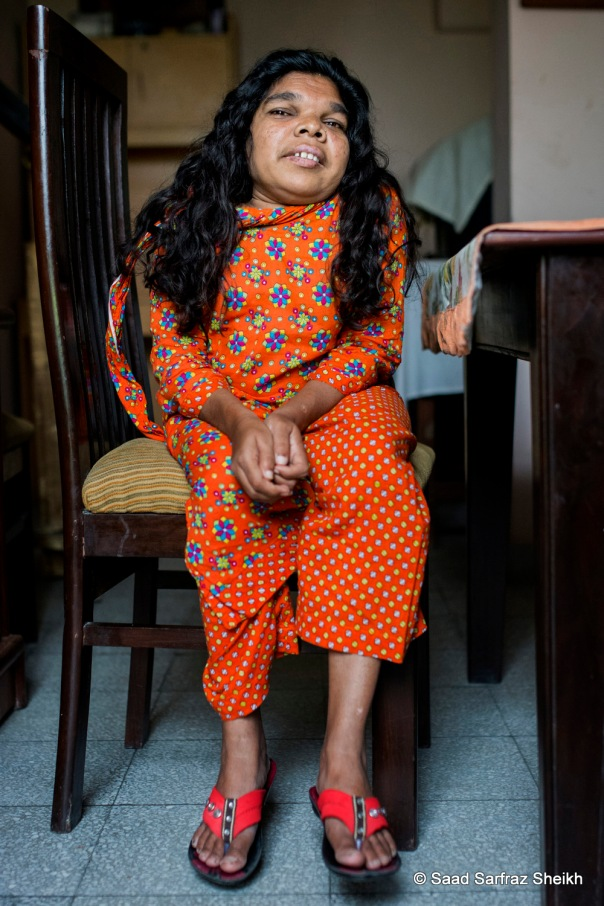 Kausar Katherine Parveen is Roshni's sole female student out of 50. Parveen has been a part of the Roshni family for almost eight years. She enjoys embroidery.