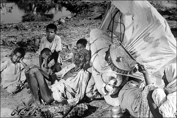Photo: Margaret Bourke-White (from Khushwant Singh's book, 'Train to Pakistan')
