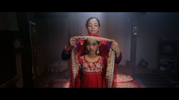 A screen-shot from the movie