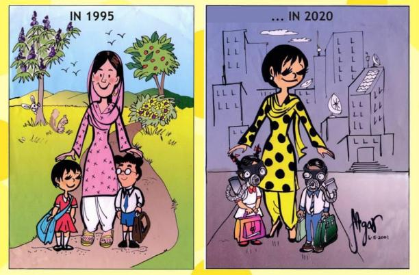 A Gogi comic strip