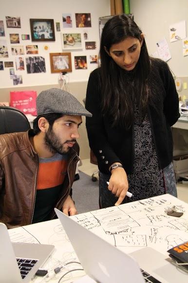 Waqas Ali and Sidra Qasim. Photo: Markhor
