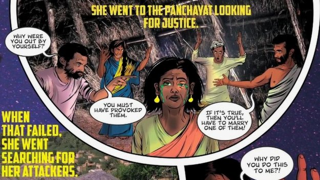 From the comic book, Priya's Shakti