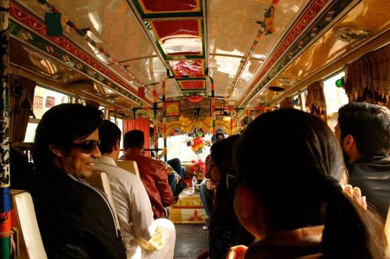 All aboard? Photo by Komal Ali