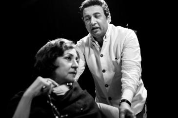 Amrita Pritam and Shekhar Suman in Ek Mulaqaat