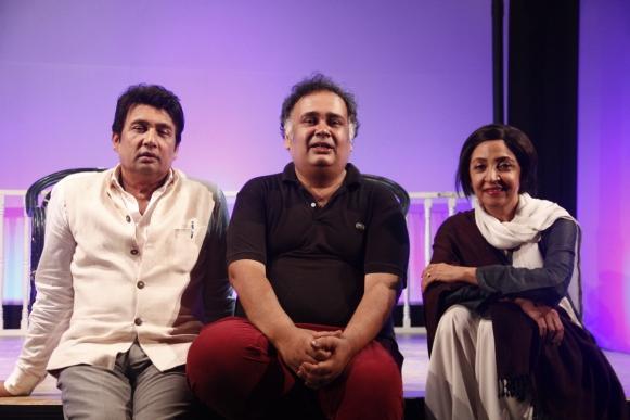 Shekhar Suman, Saif Hyder Hasan and Deepti Naval