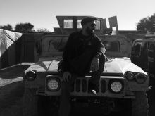 Regrouping on the 'Haqqani Network Humvee,' in Miranshah, North Waziristan, during Operation Zarb-e-Azab
