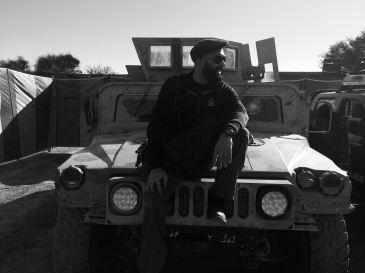Regrouping on the 'Haqqani Network Humvee,' in Miranshah, North Waziristan, during Operation Zarb-e-Azab