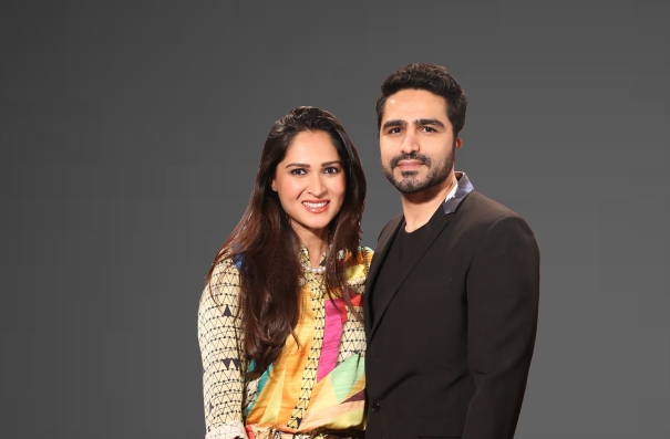 Sania Maskatiya and Umair Tabani of Sania Maskatiya