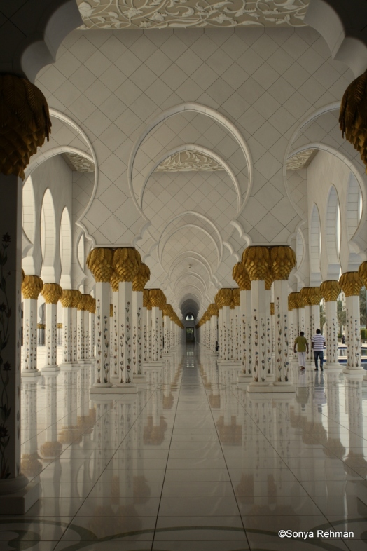 Long road to You. The Grand Mosque, Abu Dhabi.