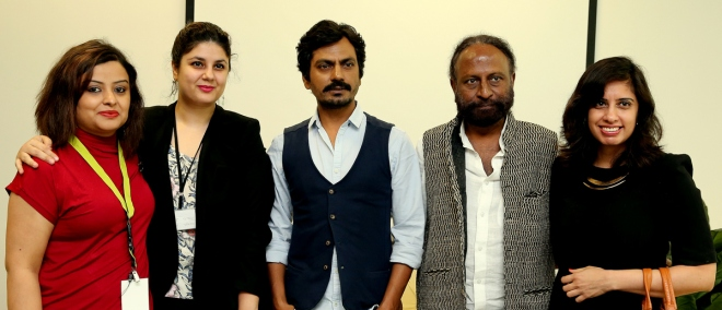 Meeting the incredible Nawazuddin Siddiqui and Ketan Mehta in Dubai - August, 2015.