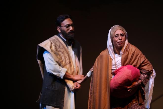 A scene from the play, Jis Lahore Nahin Dekhya