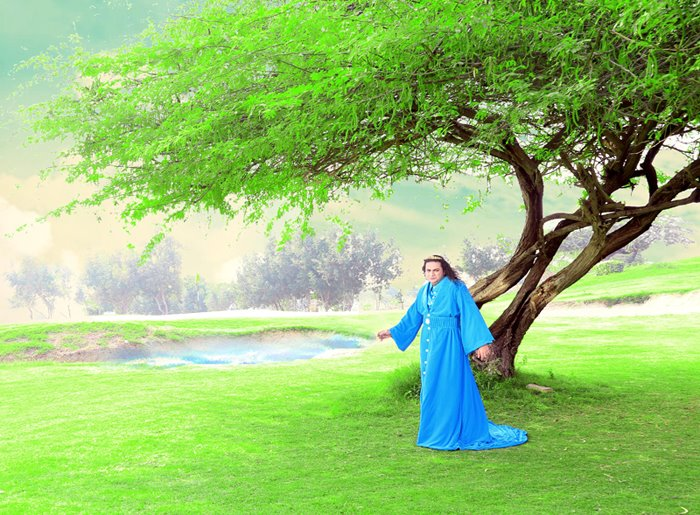 Taher Shah in his latest song, 'Angel.' Photo: Taher Shah's official Facebook page.