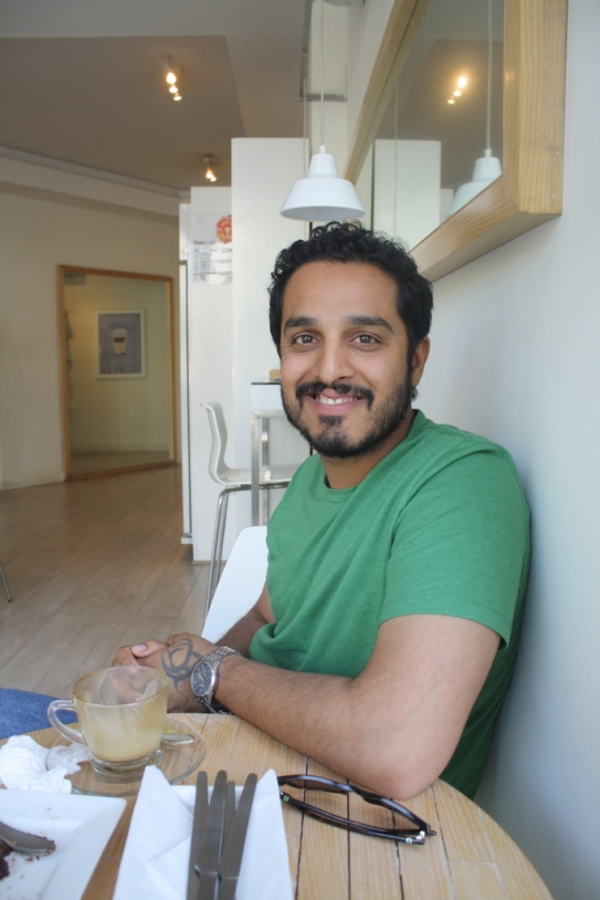 Haroon Khalid. Photo by: Sonya Rehman.