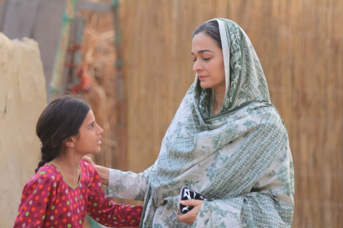 Areesha and Samiya Mumtaz in a still from Udaari. Photo courtesy of: KF and MD Productions