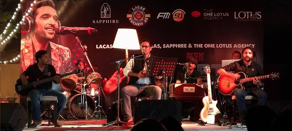 Ali Sethi at LACAS Mein Kuch Khaas - Photo: Ali Sethi's official Facebook page