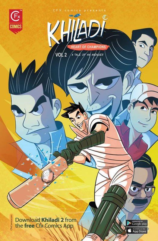 CFx Comics' series, Khiladi.