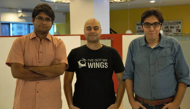 The Founders of WonderTree (L-R): Muhammad Usman, Muhammad Waqas and Ahmed Bukhari. Source: WonderTree.