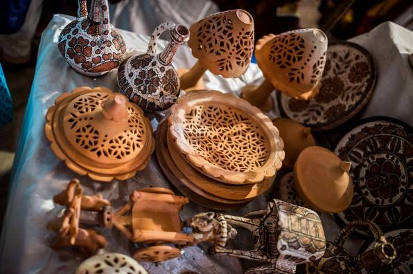 Crafts on display at the Daachi Exhibition. Photo by Saad Sarfraz Sheikh.