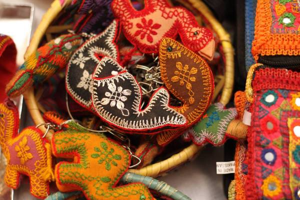 Handmade products at the Daachi Exhibition. Photo courtesy of the Daachi Foundation.
