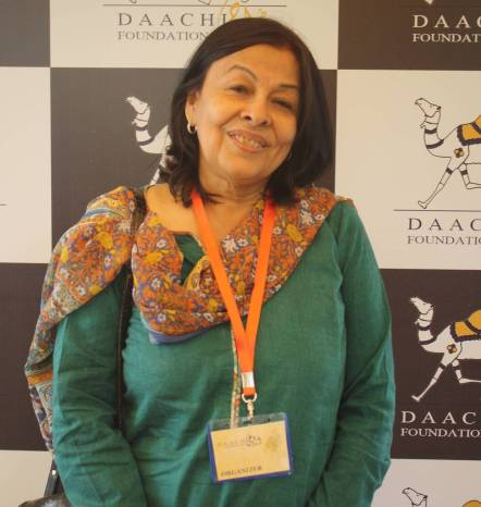 The Founder of the Daachi Foundation, Ayesha Noorani. Photo by Sonya Rehman.
