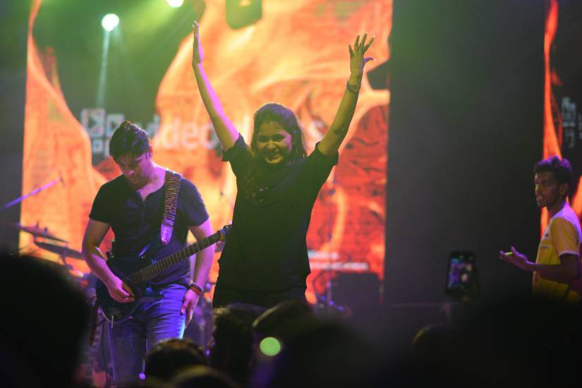 Feeling The Music: A Pakistani Band's Concert For TheDeaf